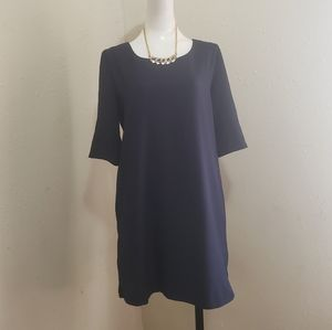 Collectible concepts navy blue dress size M